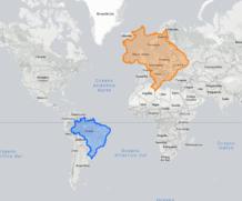 Depois de ver estes mapas, você nunca mais vai encarar o mundo da mesma forma