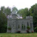 Um castelo impresso em concreto