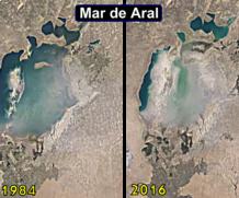 Timelapses do Google mostra como a Terra mudou em 32 anos