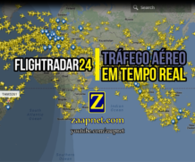 FlightRadar24 – Tráfego aéreo em tempo real