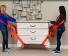 Solução incrível para transportar móveis