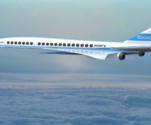 Jato supersônico de passageiros retornará em breve