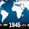 O vídeo mostra todas as explosões nucleares na história.