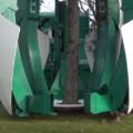 Máquina impressionante – Movendo e transplantando árvores