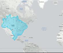 Mapa mostra o verdadeiro tamanho dos países