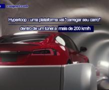 """Um túnel vai """"carregar"""" seu carro a mais de 200km/h"""